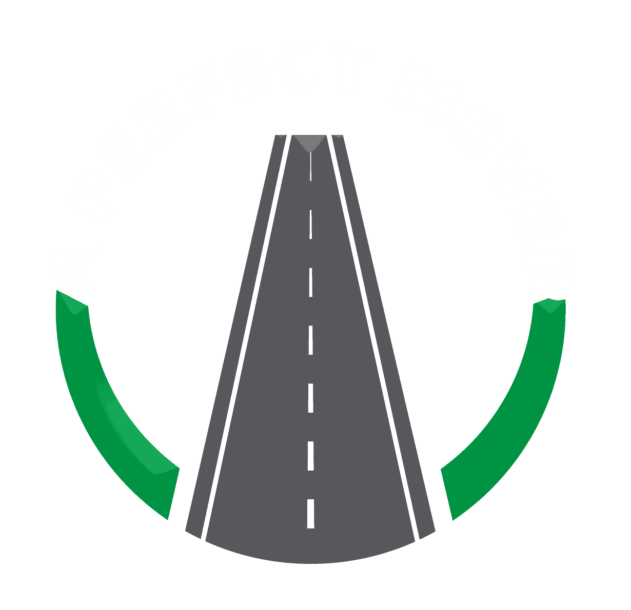 This is the transparent logo for A Perfect Mover