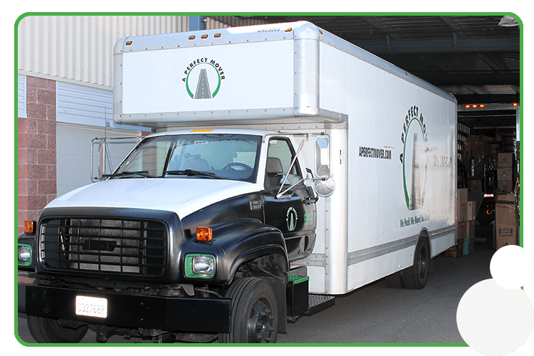 This is A Perfect Mover's moving truck