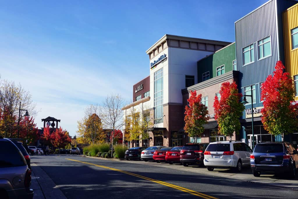 Pictured: the city of Mill Creek, WA, home to A Perfect Mover, a moving company